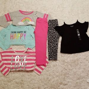 The Children's Place 6-piece Lot NWT